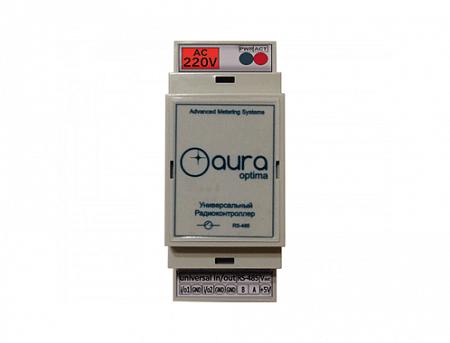 LPWAN радиоконтроллер Aura Optima DIN-220-485-5